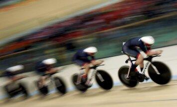 Riodežaneiro vasaras olimpisko spēļu rezultāti treka riteņbraukšanā (13.08.2016)