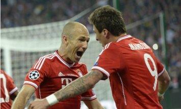 Robens mača izskaņā nodrošina 'Bayern' piekto Čempionu līgas uzvarētāju titulu