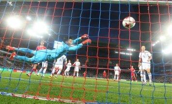 Российские футболисты впервые забили четыре гола за матч при Черчесове