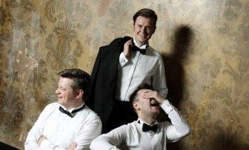 'Tenoru trio' ar programmu 'Arrivederci Roma' koncertēs LNO jaunajā zālē