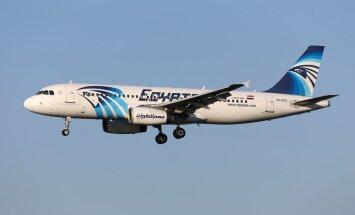 'EgyptAir' katastrofu varēja izraisīt viltus signāls par sadūmošanos, vēsta izdevums