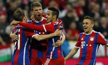 'Bayern' ātri 'sabradā' 'Porto' izredzes; pusfinālā pārliecinoši iekļūst arī 'Barcelona'