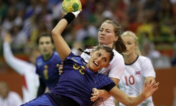 Riodežaneiro vasaras olimpisko spēļu sieviešu handbola turnīra rezultāti (14.08.2016)