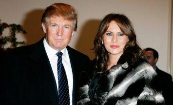 'Sieva – trofeja' un hroniska neuzticība: atklājas Trampu laulības noslēpumi