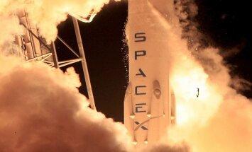 'SpaceX' atkārtoti izmantos raķeti satelīta nogādāšanai kosmosā
