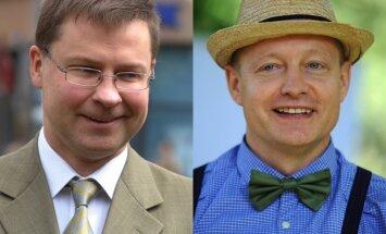 Dombrovskim un 'dakterim Leonam' piešķir Triju Zvaigžņu ordeni