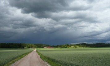 В четверг ожидаются кратковременные дожди, местами - грозовые ливни