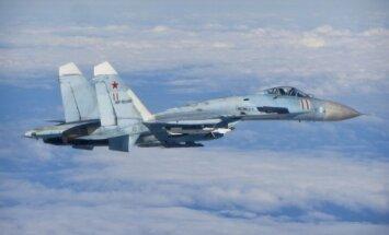 Latvijas robežu tuvumā lidinās vairākas Krievijas militārās lidmašīnas