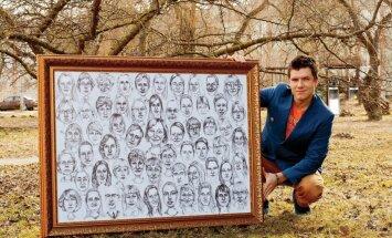 Latviešu mākslinieks pieteicies Ginesa rekordam