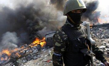 Ukrainas parlaments nolemj nekavējoties atbruņot visus nelegālos formējumus