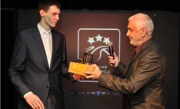 Foto: Latvijas gada labāko basketbolistu sumināšana