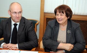 Straujuma mudina RP ekonomikas ministra amatā nomainīt Pavļutu pret Dombrovski