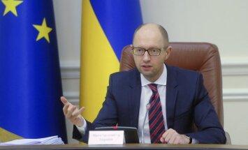 Jaceņuks: Ukraina atsakās Krievijai atmaksāt trīs miljardu dolāru parādu