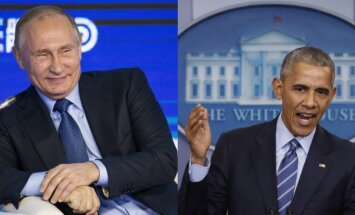 Putins Jaunā gada apsveikumā neapsveic Obamu; sveicieni adresēti Trampam
