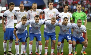 group photo Russia football