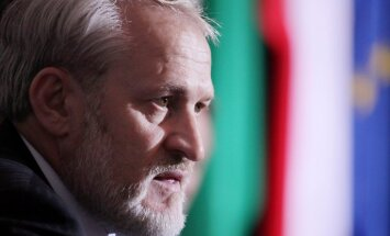 18.09.2010. The head of the Chechen government in exile Ahmed Zakayev during a press conference after of the World Congress of the Chechen Nation in Pultusk, north of Warsaw on 18 September 2010. A Polish court ordered exiled Chechen leader Akhmed Zakayev