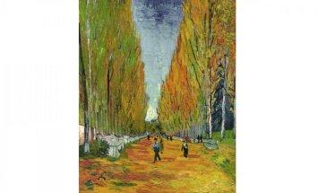 Vinsenta van Goga glezna izsolīta par 66,3 miljoniem dolāru