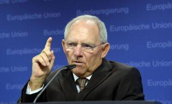 Vācijas finanšu ministrs Grieķijas parādsaistību norakstīšanu pielīdzina 'Grexit'am'