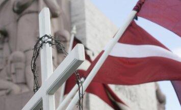 Latvijā piemin 1949. gada 25. marta deportāciju upurus