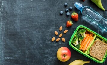 Uztura speciālistes ieteikumi veselīgām pusdienām, ko bērnam dot līdzi uz skolu