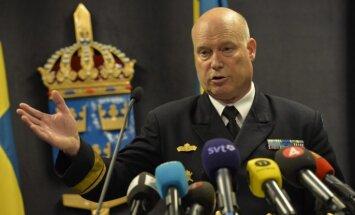 Foto: Zviedrijas armija demonstrē pamanītās zemūdenes foto (plkst.22:46)