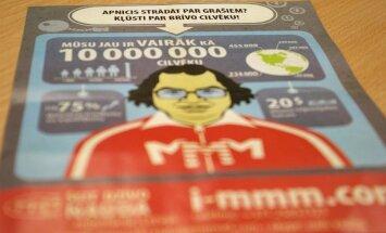 Brazovskis: finanšu piramīda 'MMM' nodarbojas ar cūcību