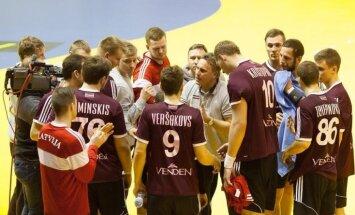 Paziņots Latvijas handbola izlases sastāvs pirmajai PČ kvalifikācijas spēlei