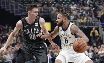 Kurucs gūst 12 punktus, bet nelielas potītes traumas dēļ nepabeidz NBA spēli