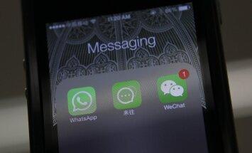 Krievija bloķē Ķīnas lielāko soctīklu 'WeChat'
