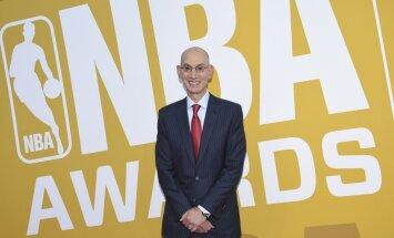 NBA komisārs brīdinājis komandas par tīšu zaudēšanu