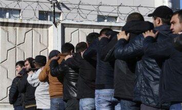 Reidā tirdzniecības bāzē Maskavā, kurai uzbruka demonstranti, policija aizturējusi 1200 cilvēku
