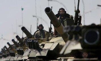 ASV uz Latviju nosūtīs 16 tankus un kaujas mašīnas