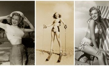 Publiskoti neredzēti un reti Merilinas Monro foto