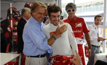 Alonso cer pagarināt līgumu ar 'Ferrari', noliedz pāreju uz 'McLaren'