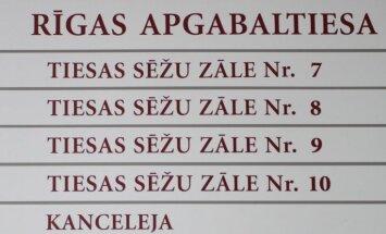 Rīgas apgabaltiesu pretendē vadīt trīs kandidāti