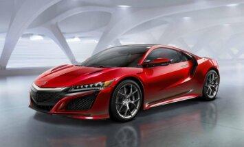 'Honda' beidzot parādījusi 'Acura NSX' sērijveida versiju