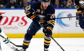 Girgensons izņemts no NHL savainoto spēlētāju saraksta