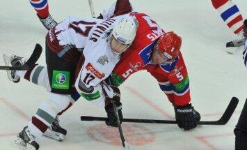 Rīgas 'Dinamo' pirmo izbraukumu noslēdz ar zaudējumu Sprukta pārstāvētajai CSKA