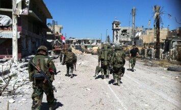 Laikraksts: Krievija atsaukusi visas militārpersonas no Sīrijas