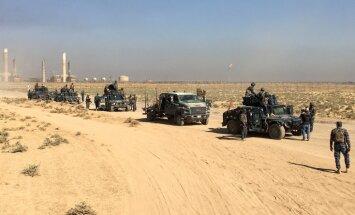 Irākieši lenc Kirkūku; kurdu pešmerga atkāpjas un nostiprinās pilsētā