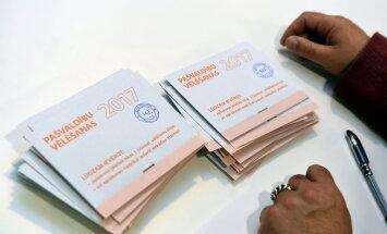 На повторных выборах в Кекавском крае проголосовало 26,16% избирателей