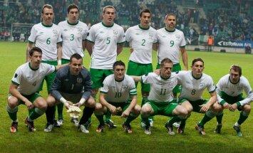 Īrijas izlase pēdējā pārbaudes spēlē pirms EURO 2012 nospēlē neizšķirti