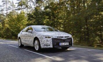 'Opel' publicējis pirmo informāciju par jauno 'Insignia' modeli