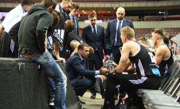 'VEF Rīga' sīvā cīņā Vienotās līgas spēlē zaudē 'Unics'