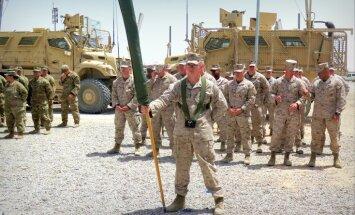 Foto: ASV karavīri atgriežas terora katlā Helmandā