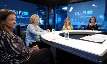 'Delfi TV ar Jāni Domburu' diskusija – ko sagaidām veselības nozarē. Pilns ieraksts