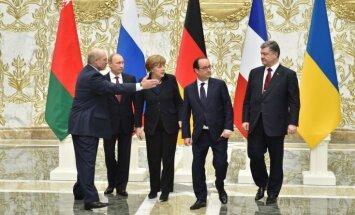"""""""Марафонские"""" переговоры в Минске продолжаются более 13 часов без сна и отдыха"""