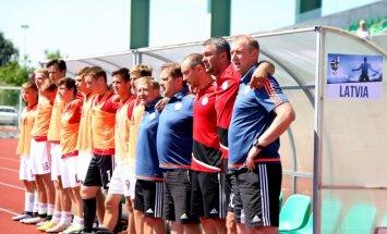 Latvijas U-17 futbola izlase EČ kvalifikācijas priekšsacīkstes noslēdz ar uzvaru pār Moldovu