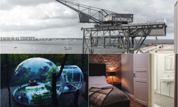 Nakšņošana ar šiku: 13 oriģinālas viesnīcas Latvijā un pasaulē