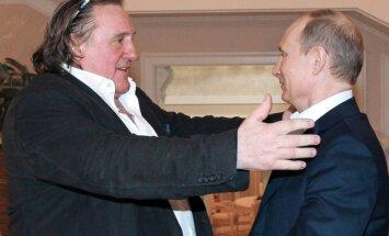 Depardjē saņēmis Krievijas pasi un ticies ar Putinu
